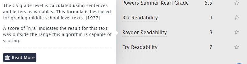 raygor index
