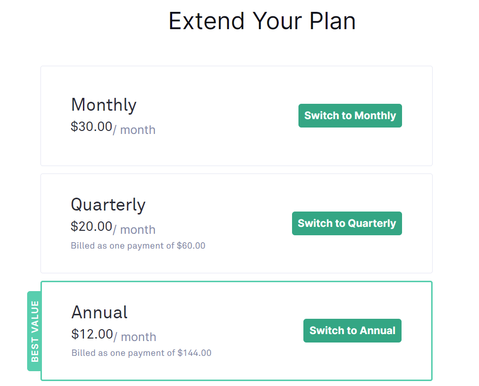 how to extend grammarly plans